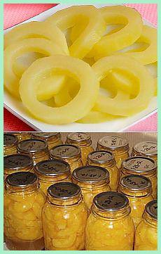 кабачки ананасовые