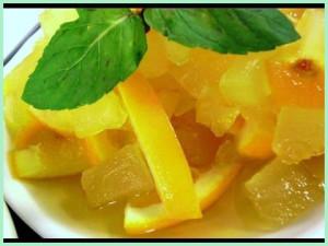 рецепт варенья кабачки с апельсинами
