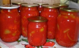 рецепт лечо с томатом на зиму