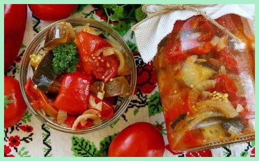 Салаты на зиму десяточка рецепты с