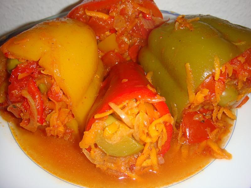 маринованный перец с морковью на зиму рецепты