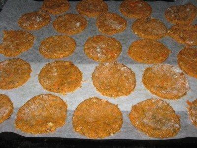 печенье из тыквенного жмыха