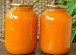 рецепт приготовления тыквенного сока