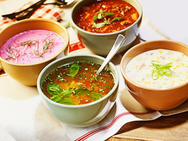 Супыы простые и вкусные на каждый