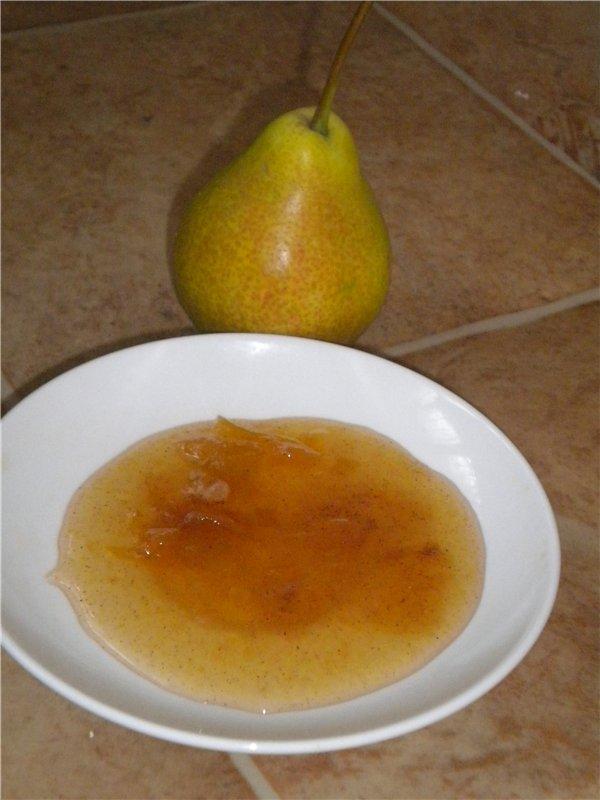 варенье из груши с лимоном