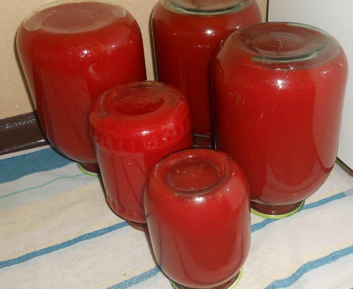 рецепт томатного сока домашнего