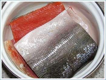красная рыба засолка