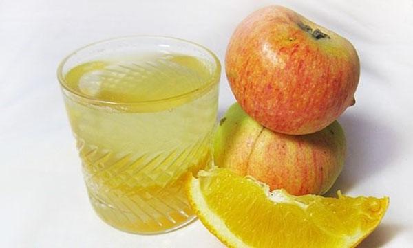рецепт компота из яблок и апельсинов
